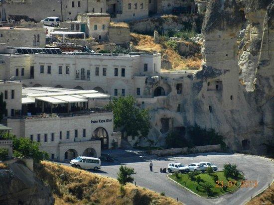Goreme Kaya Hotel: Vista externa do hotel