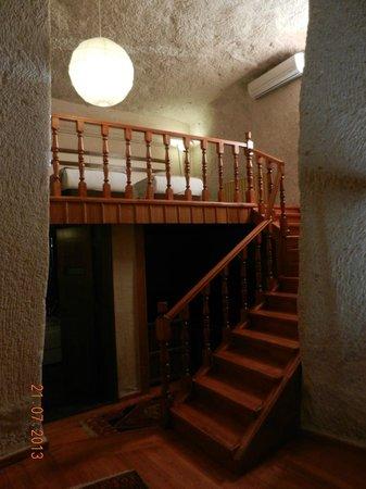 Goreme Kaya Hotel: Vista do Mezzanino