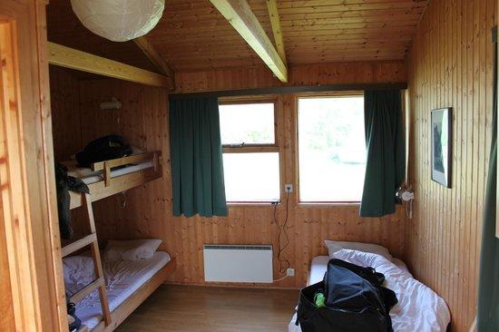 Hotel Geirland: vue des lits
