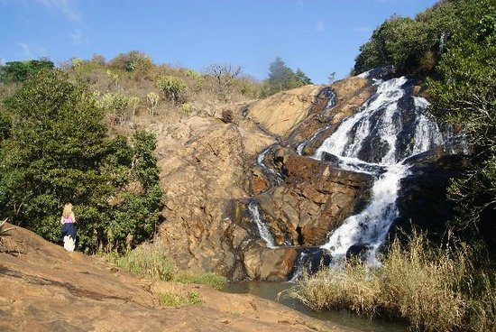 Phophonyane Falls Ecolodge and Nature Reserve: The falls