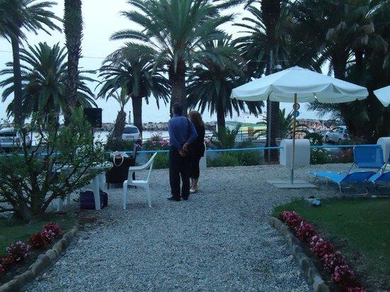 Hotel Miramare Continental Palace : i giardini