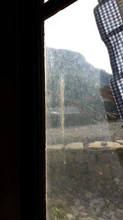 Auberge du Sanetsch: Fenster :-(