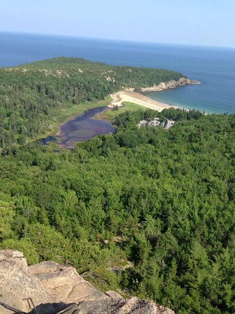 Somes Sound View Campground: View from Beehive Trail