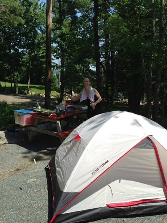 Somes Sound View Campground: Campsite 13