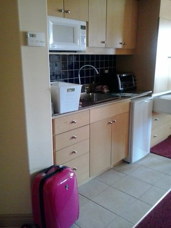 Carriage Ridge Resort: Kitchenette was more modern than full kitchen in 1-bedroom