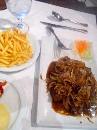 Meson de Bari : Steak and fries