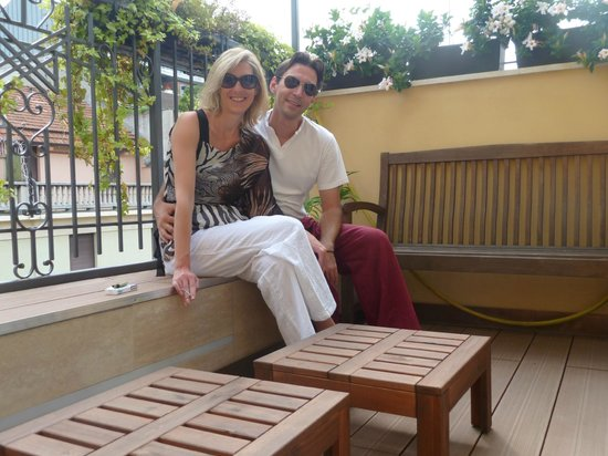 B&B Bronzino House: la terrasse