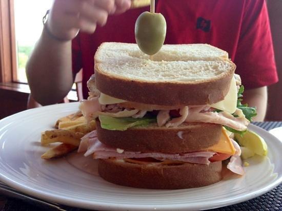 Goldmoor Dining: The Champion Sandwich!
