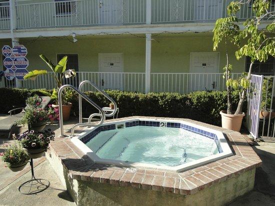 le jardin picture of coral sands motel los angeles tripadvisor. Black Bedroom Furniture Sets. Home Design Ideas