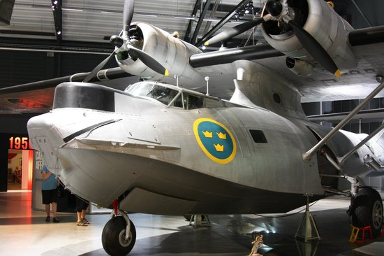 The Swedish Air Force Museum: Catalina riscue plan