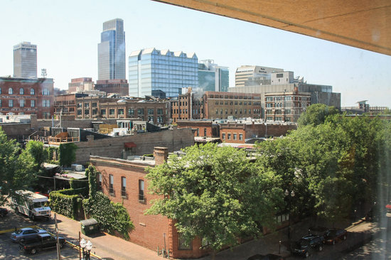 Embassy Suites by Hilton Omaha - Downtown/Old Market: View from room.