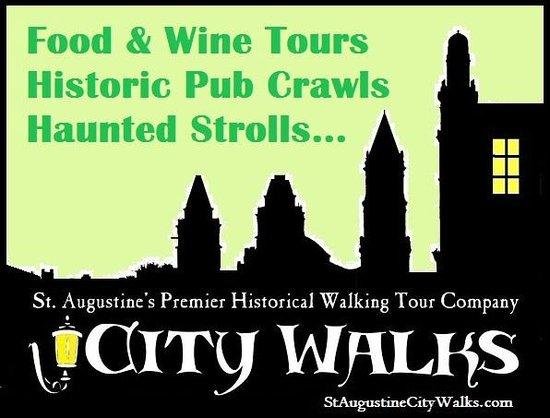 St. Augustine City Walks: Food Tours, Pub Crawls, Haunted Tours