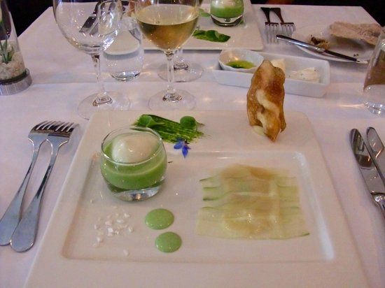 Hotell Borgholm: Cucumber and St Jacques