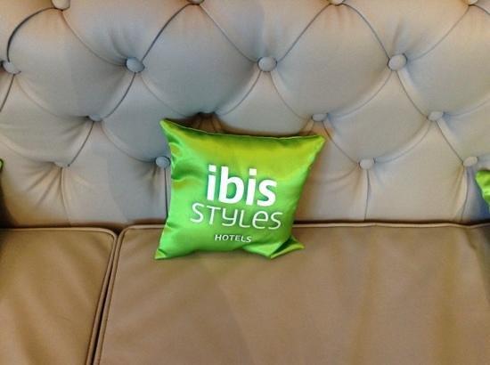 Ibis Styles Rennes Saint Gregoire: le design est vraiment soigné