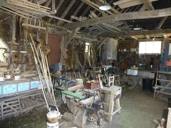 Manor Farm Country Park: Carpenter's workshop