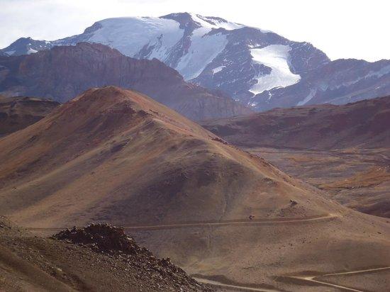 Σαντιάγκο, Χιλή: vista panorâmica - andes