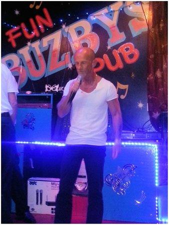 Buzby: Me having a sing