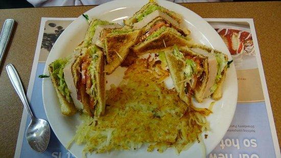 Denny's : Club Sandwich