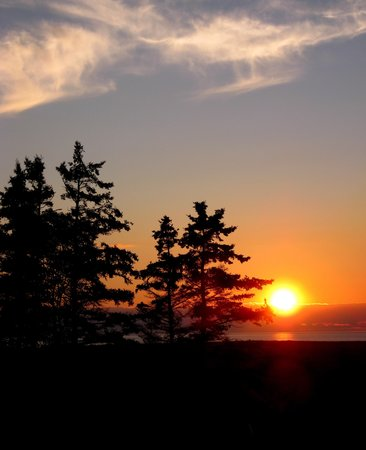 Whale Cove Summer Village: Sunset