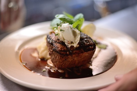 The Brass Tack: Filet Mignon with Blue Cheese Bacon Butter