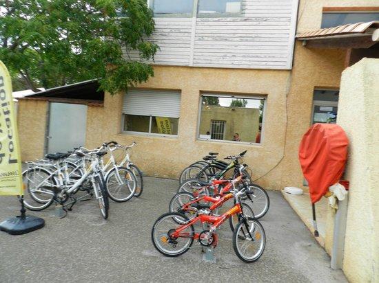 Camping Tohapi L'Europe : Vélos