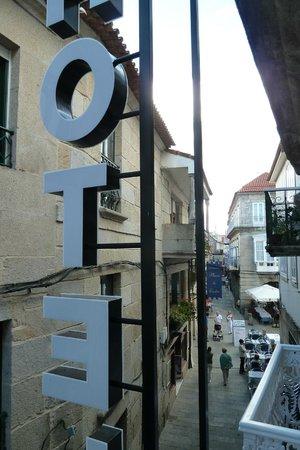 Hotel Cais: Vista desde la habitacion