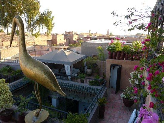 Riad Terra Bahia: Terrasse