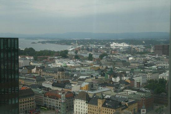 Radisson Blu Plaza Hotel, Oslo: elevator view