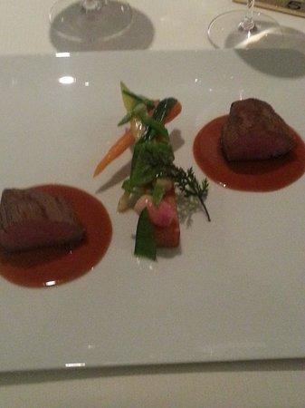 Château Cordeillan-bages : le plat de veau