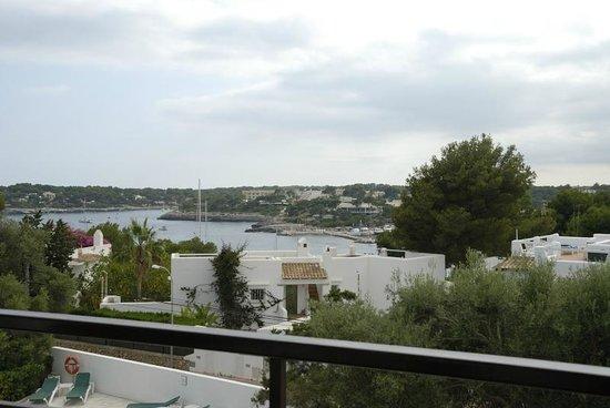 Niu d'Aus: vista dalla terrazza app.to 8 secondo piano