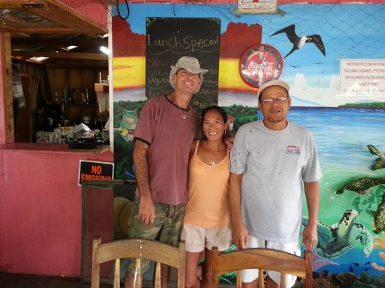 Omar's - Best local fare in Placencia!