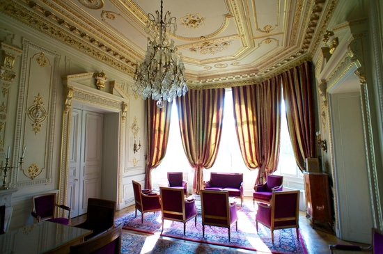 Château de la Motte Fénelon : Beautiful salon