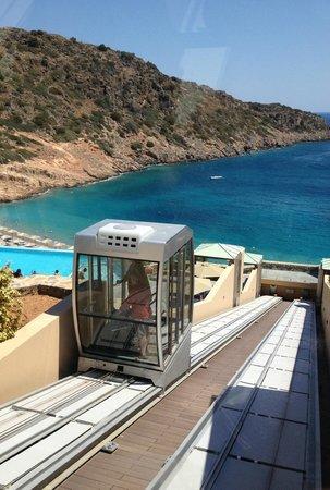 Fenicular Elevator Picture Of Daios Cove Luxury Resort Villas