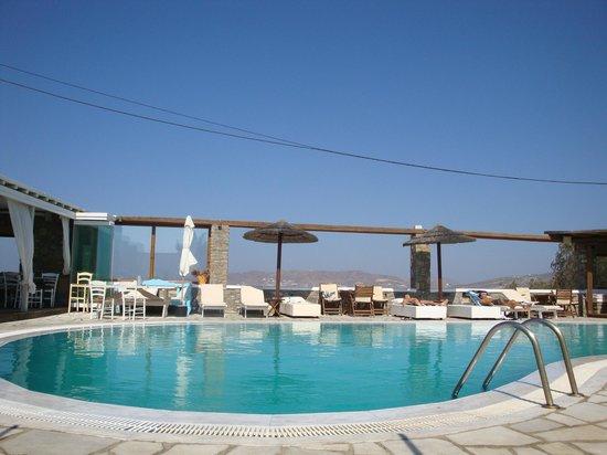 A Hotel  Mykonos : piscine