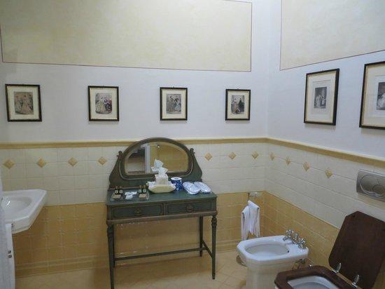Relais Villa Il Sasso Historical Place : bathroom