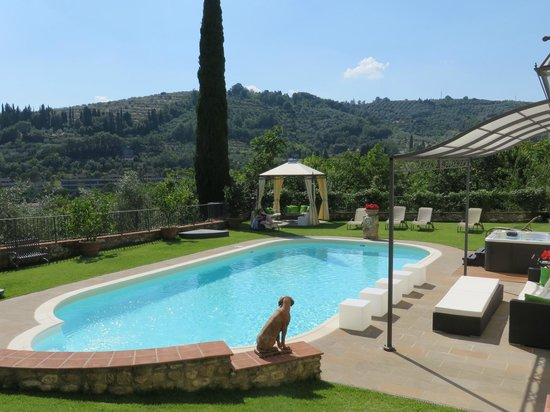 Relais Villa Il Sasso Historical Place: pool area