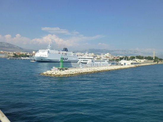 Villa Nora Hvar: Split Ferry Terminal
