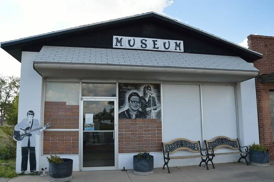 Wink, TX: front of the museum