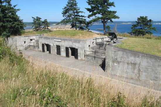 Fort Casey State Park: View from Top