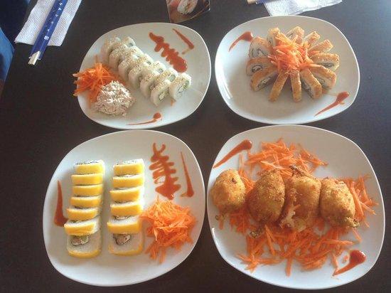 Hai Sushi: yummi..sushi!!!