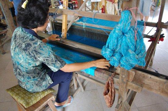 Serenity Ubud Villas: artisanat textile