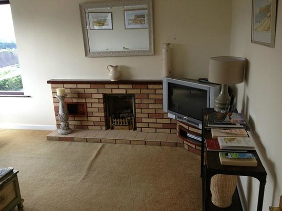 Cairnview Bed and Breakfast: Shared TV room