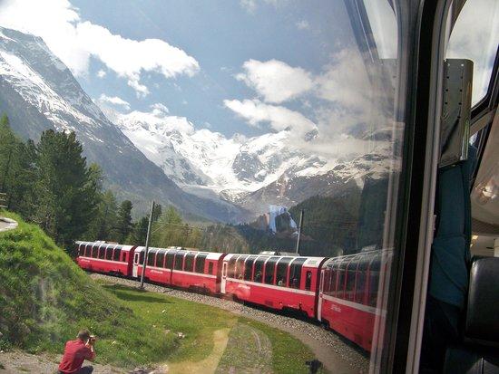 Zunfthaus zur Rebleuten: Bernina Express