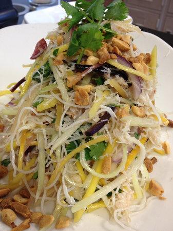 Starfish: Crab and Mango Salad