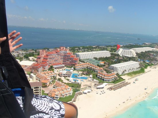 Omni Cancun Resort & Villas: Flyover View