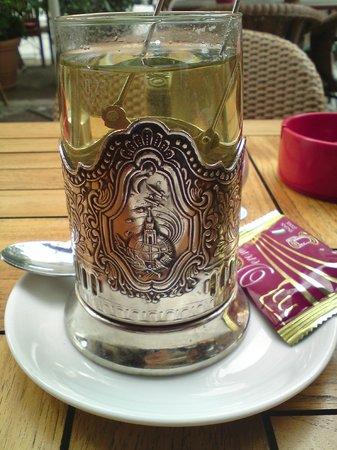 Pasternak: délicieux thé vert