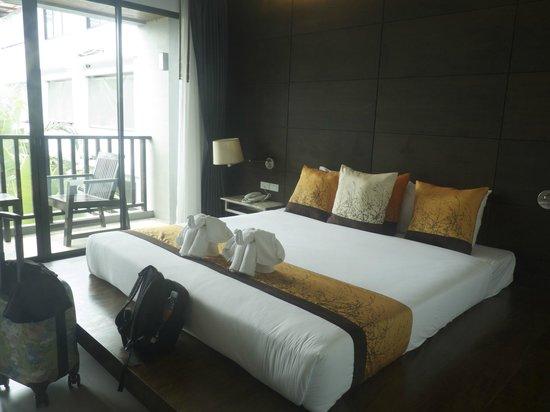 Aree Tara Resort: Das Zimmeraussicht zum Balkon