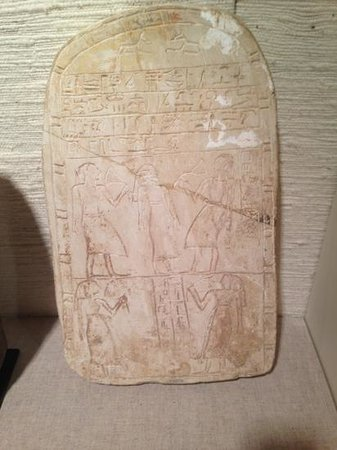 Mabee-Gerrer Museum: Egyptian stele