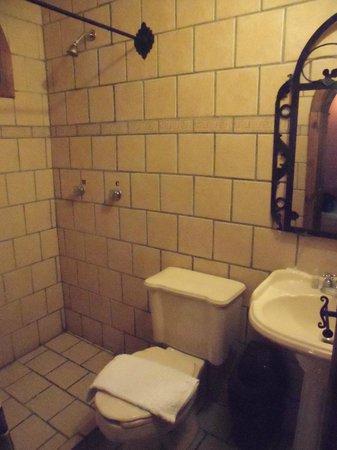 Hotel Santo Tomas : Baño