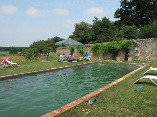 Chateau de Boiscoursier: swimming pool